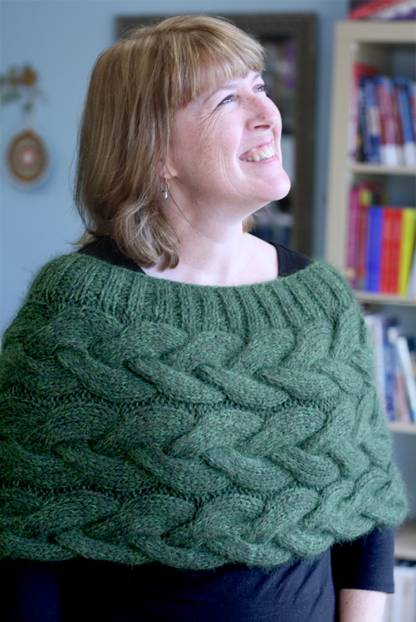 Free Knitting Pattern for Braided Cable Hug