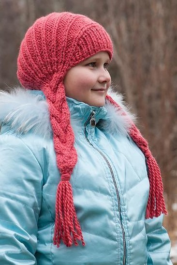 Knitting pattern for Braided Hat