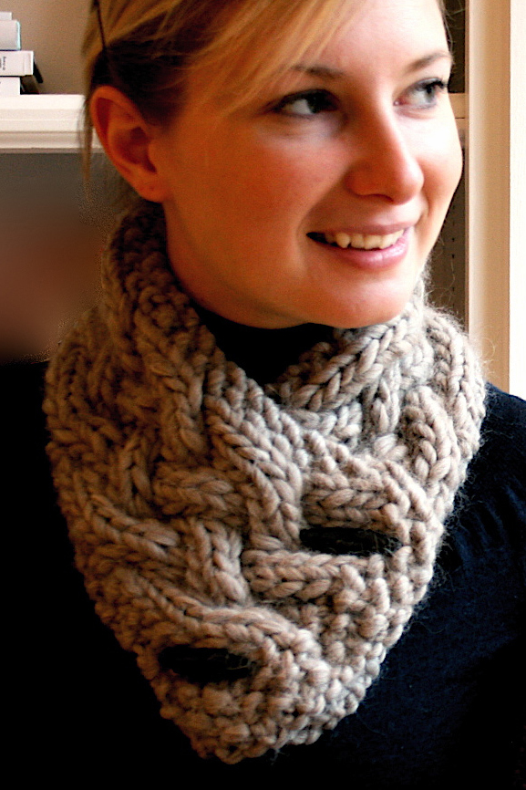 Knitting Pattern for Quick Breckenridge Cowl