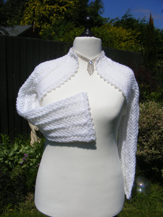 Bridal/Evening Shrug Knitting Pattern