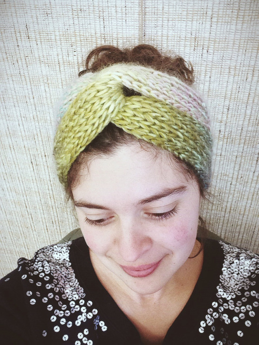 Brioche Turban Free Knitting Pattern