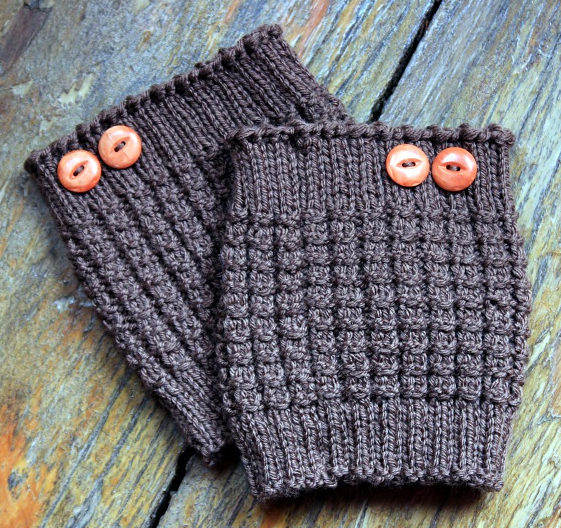 Free Knitting Pattern for Thermal Boot Cuffs