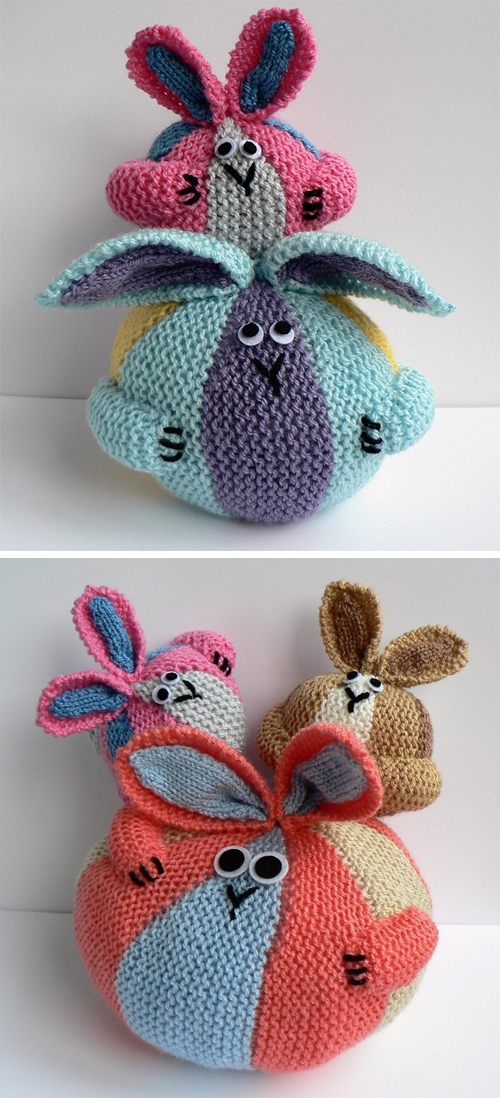 Knitting Pattern for Bunny Bundles