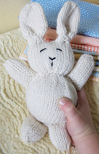 246e8e6b67d9cf Free knitting pattern for bunny rabbit plush toy softie