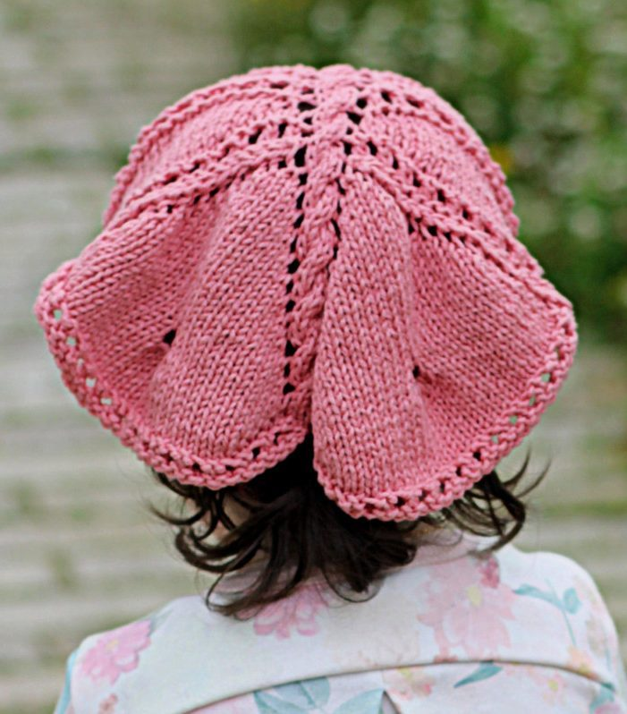 Knitting Pattern Butterfly Kerchief