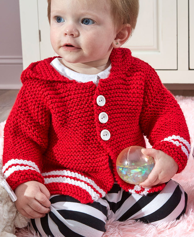 Little One Hoodie Knitting Patterns - In the Loop Knitting