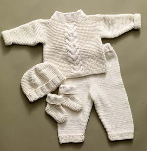 e19ee02ab Baby Layette Set Knitting Patterns - In the Loop Knitting