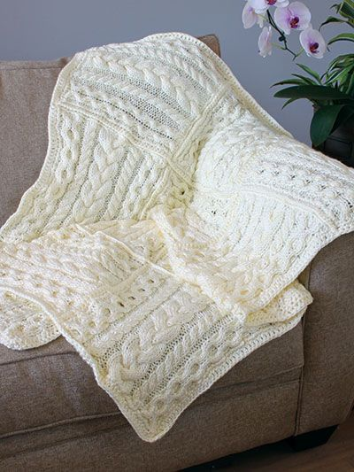 Loop Yarn Blanket Baby