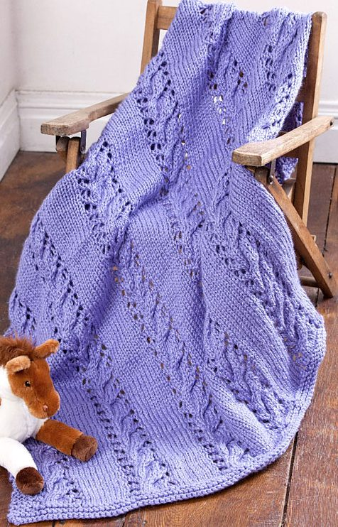 76eade354f6d6 Quick Baby Blanket Knitting Patterns - In the Loop Knitting