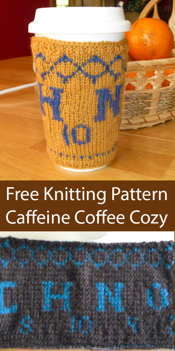 Coffee Lover Knitting Patterns In the Loop Knitting