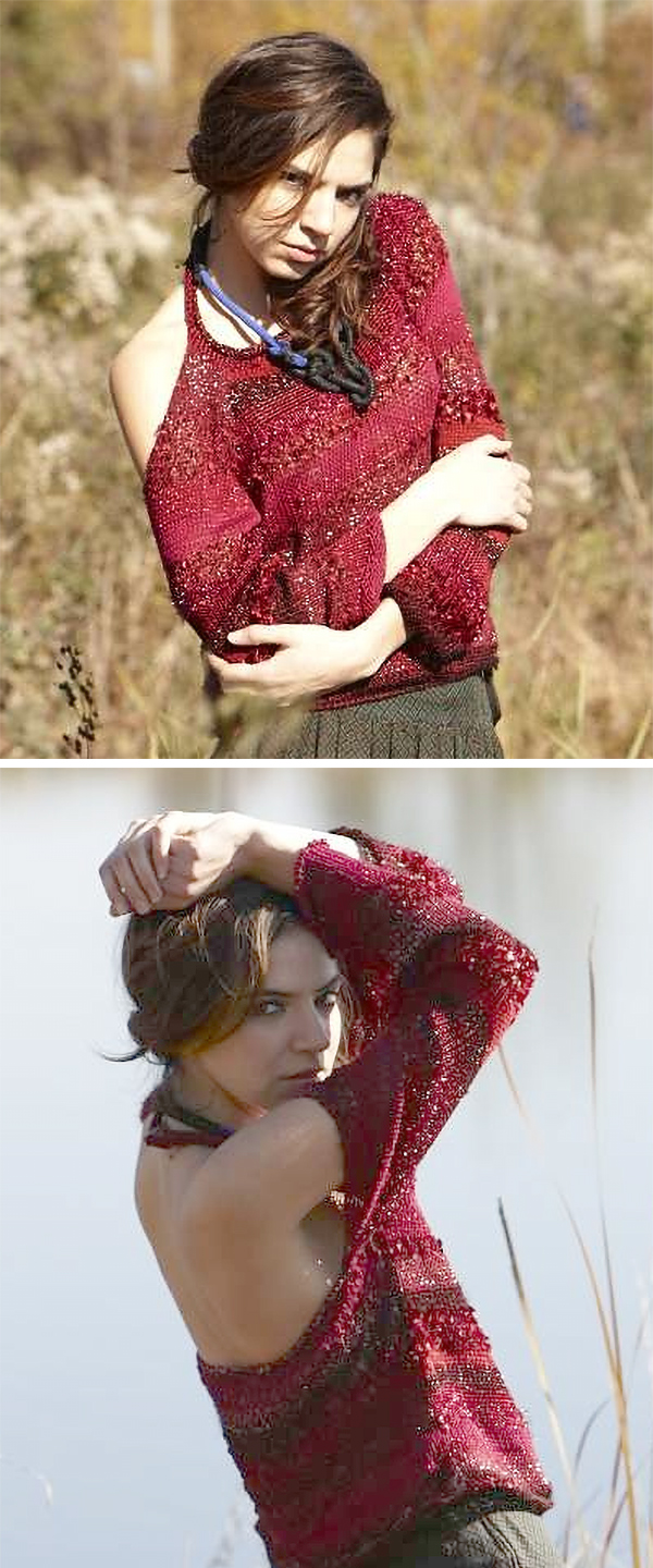Free Knitting Pattern for Camino Pullover