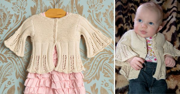 Canyon Baby Cardigan free knitting pattern | Free Baby and Toddler Sweater Knitting Patterns including cardigans, pullovers, jackets and more http://intheloopknitting.com/free-baby-and-child-sweater-knitting-patterns/