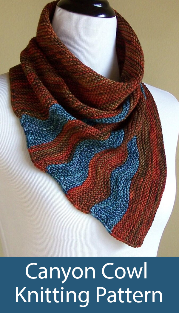 Knitting Pattern for Canyon Cowl