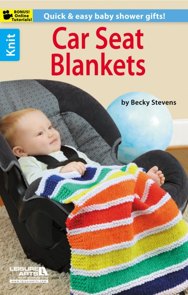 Knitting Patterns for Car Seat Blankets
