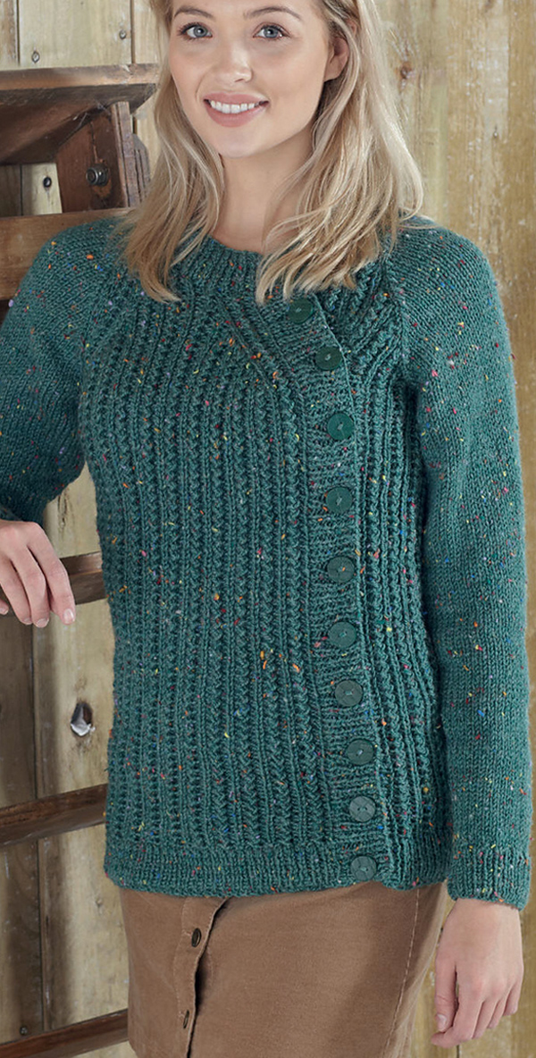 Free Cardigan Knitting Patterns 2 Row Repeat King Cole 5590, Limited Time Free