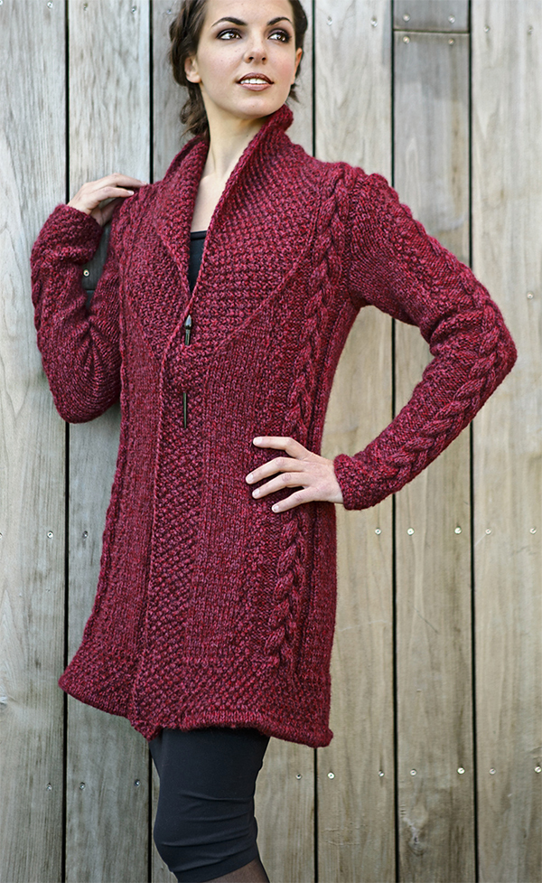 Carla Coat Knitting Pattern