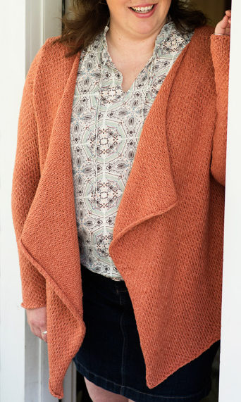 Free Knitting Pattern for Carrington Cardigan