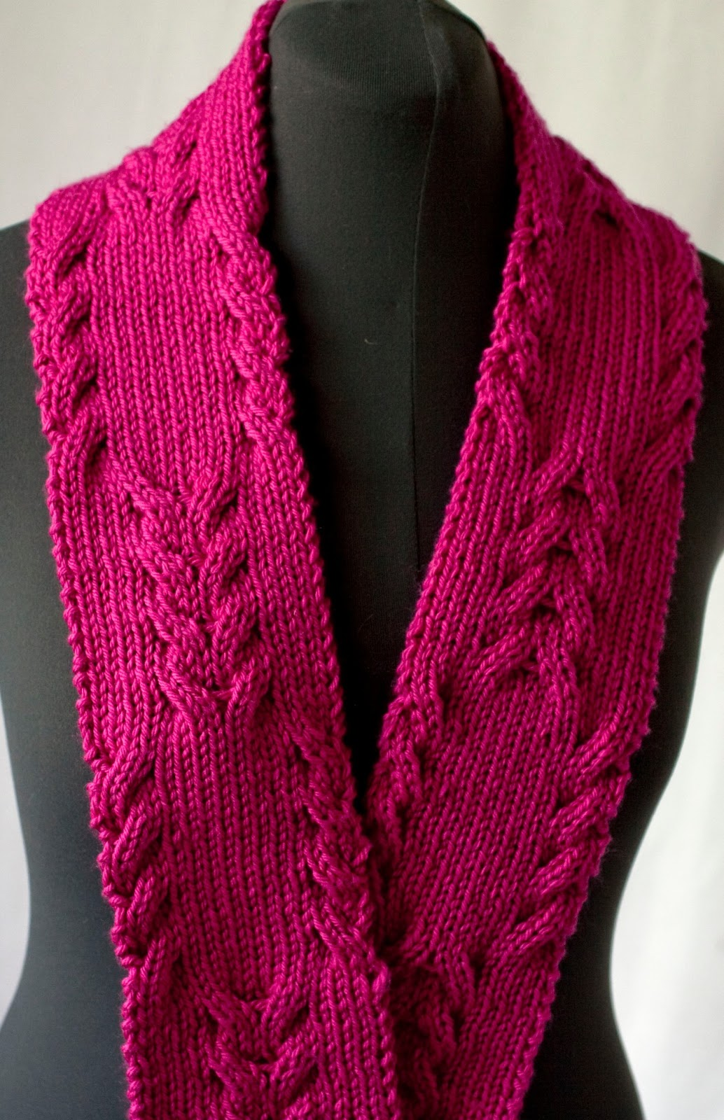 Reversible Knitting Patterns For Scarves Awesome Design