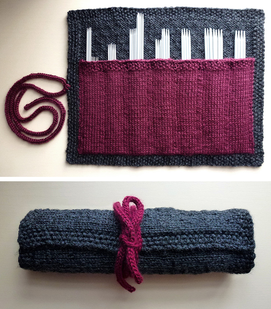 Free knitting pattern for Case in Point double pointed needle holder