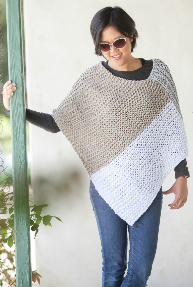 Easy Poncho Knitting Patterns In The Loop Knitting