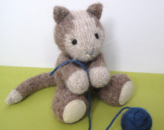 Cavendish Cat Kitten Knitting Pattern