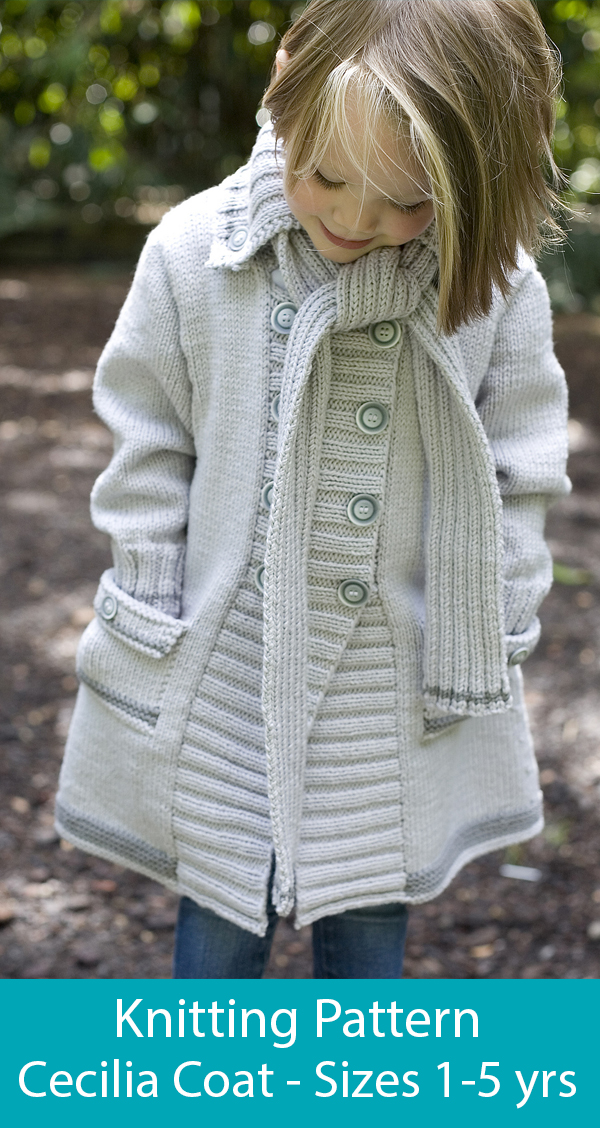 Knitting Pattern for Cecilia Coat