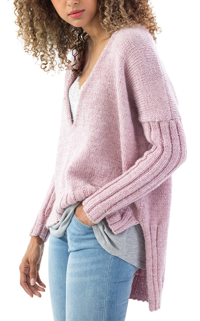 Free Knitting Pattern for Cedar Hill Pullover