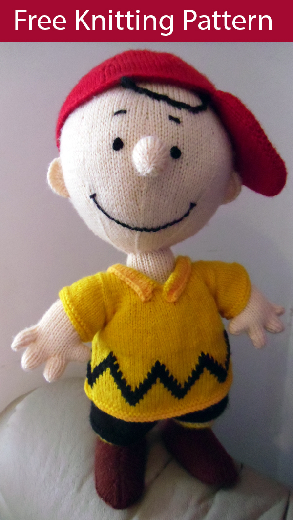 Free Knitting Pattern for Charlie B Doll