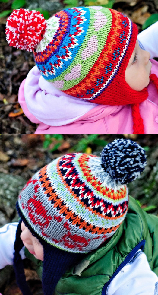 Knitting Pattern for Cheery Scrap Cap
