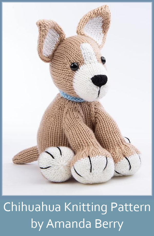 Knitting Pattern for Chihuahua by Amanda Berry