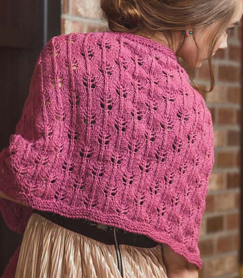 Knitting Pattern for Chloe Stole