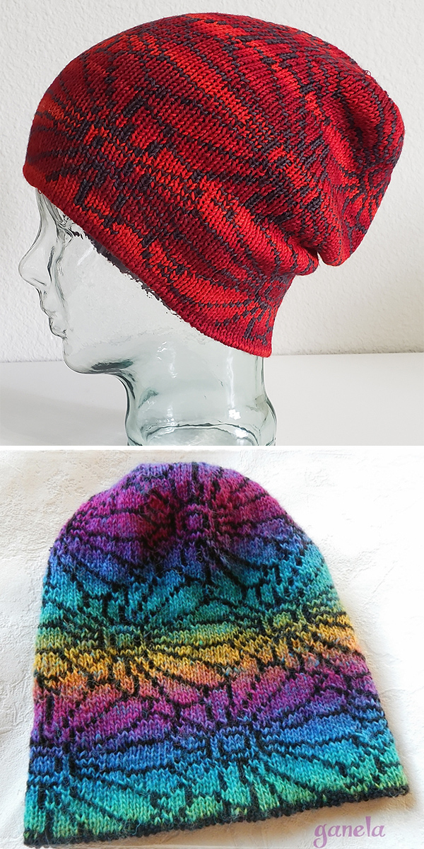 5d065b5e9d5 Colorful Hat Knitting Patterns- In the Loop Knitting