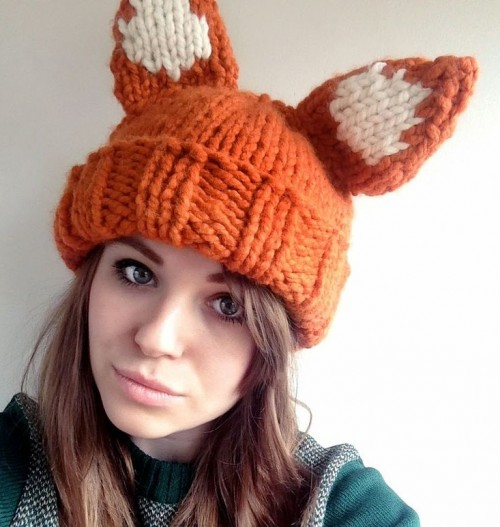 e1c6c327638 Fox Knitting Patterns- In the Loop Knitting