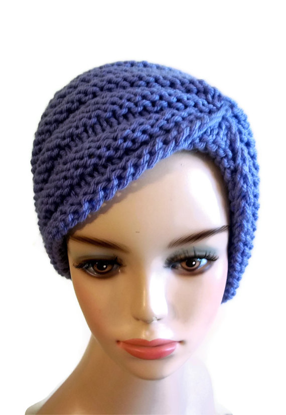 Chunky Turban Hat Knitting Pattern