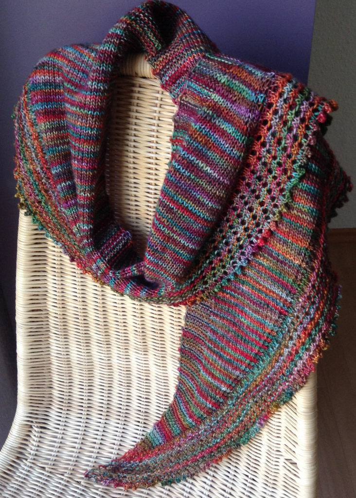 One Skein Shawl Knitting Patterns In The Loop Knitting