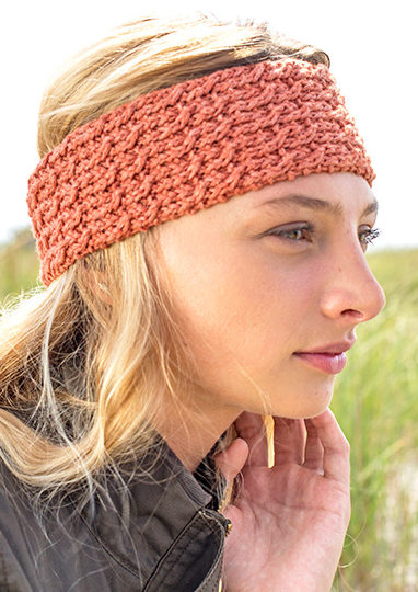 Free Knitting Pattern for Clafouts Headband