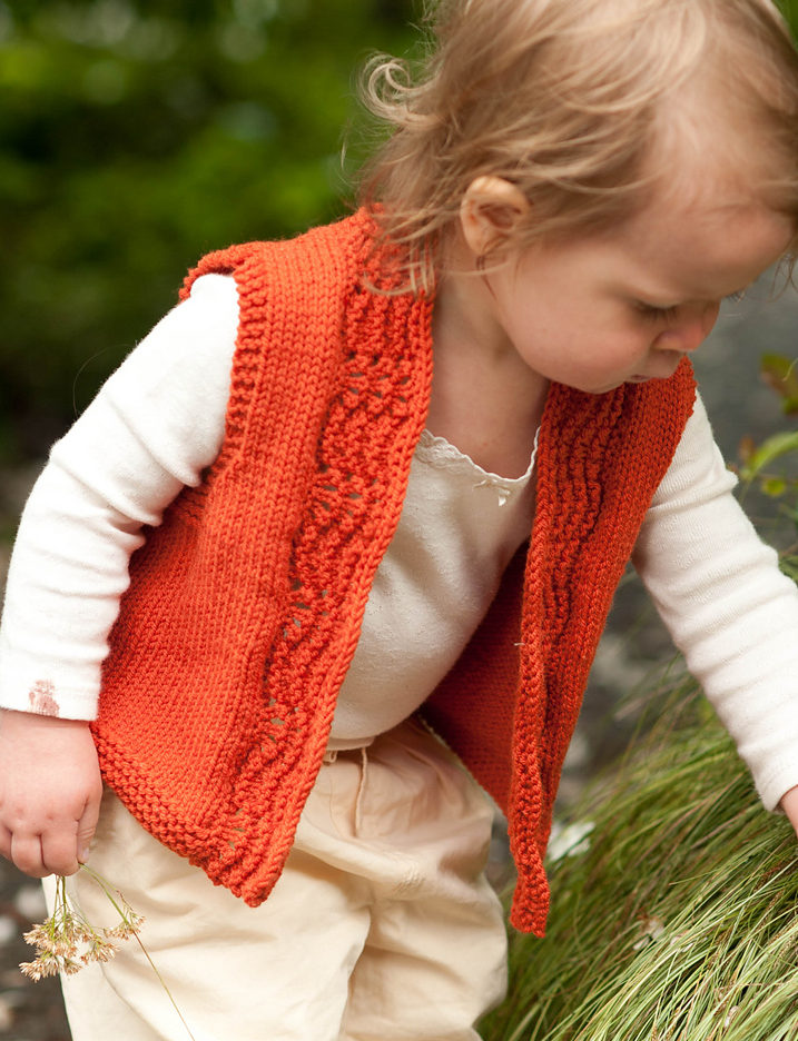 Knitting Pattern for Clementine Baby Vest