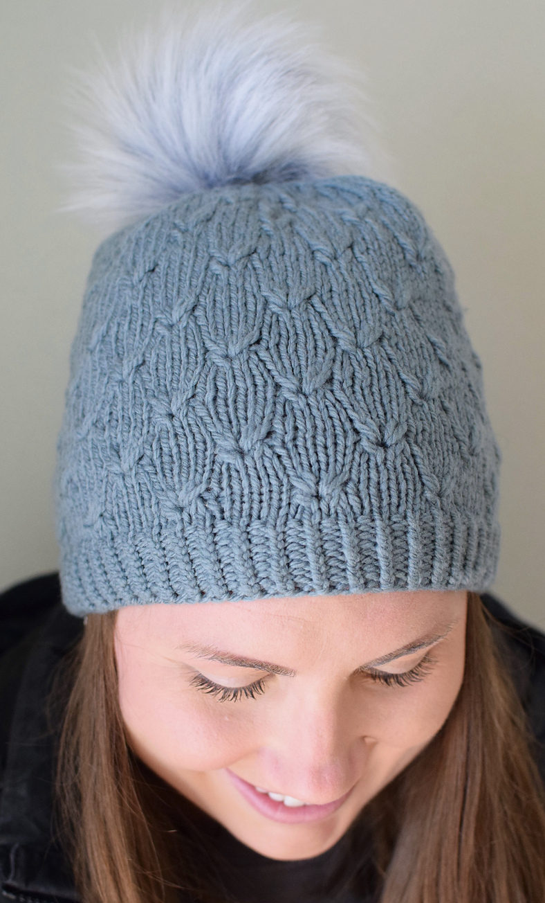 Free Knitting Pattern for Clover Hat