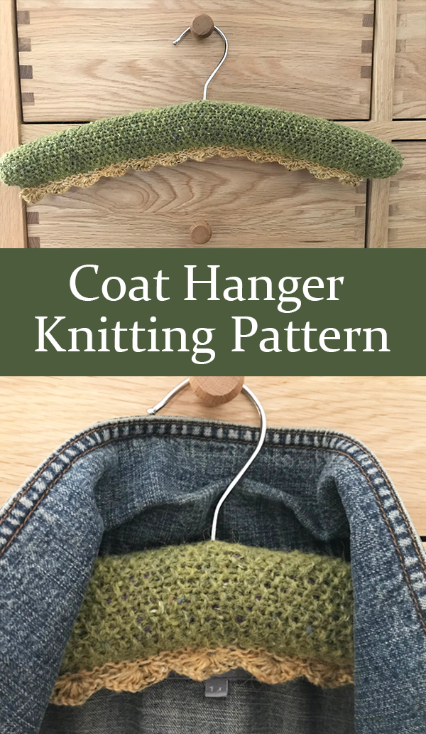 Knitting Pattern for Coat Hanger