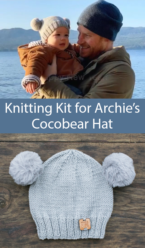 Knitting Kit for Archie's Cocobear Hat for $20