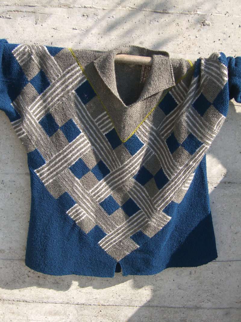 Free Knitting Pattern for Congo Sweater