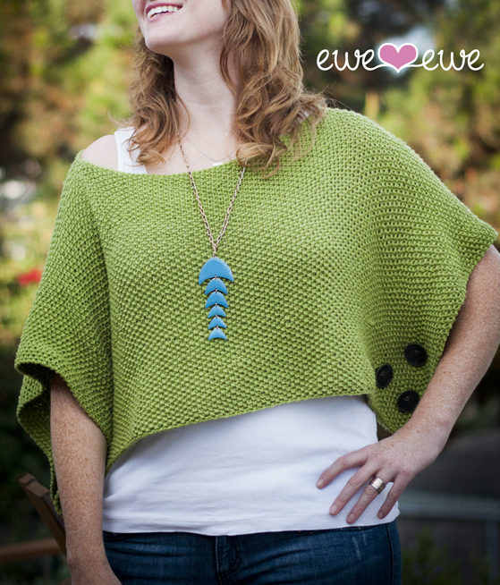 Knitting Pattern for Easy Contessa Coverup