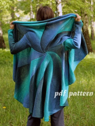 3 in 1 Convertible Coat Knitting Pattern