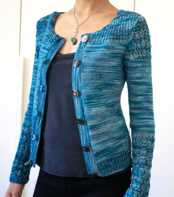 Knitting pattern for Costanza Cardigan