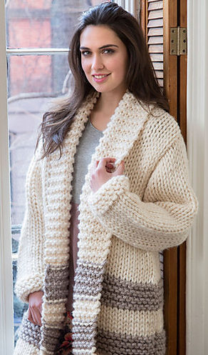 be015a3c0e66 Easy Sweater Knitting Patterns- In the Loop Knitting