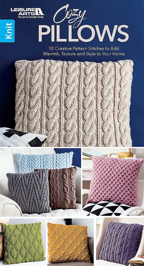 Cozy Pillows - 10 Creative Patterns to Add Warmth, Texture and Style to Your Home