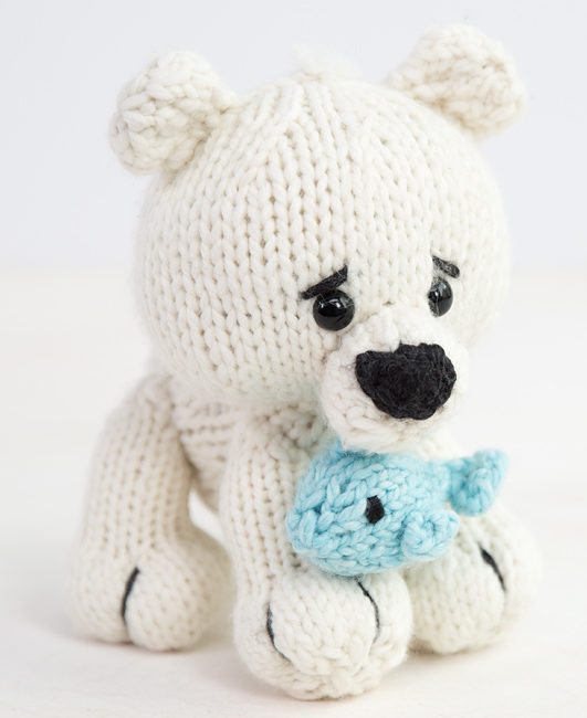 Polar Bear Knitting Patterns In The Loop Knitting