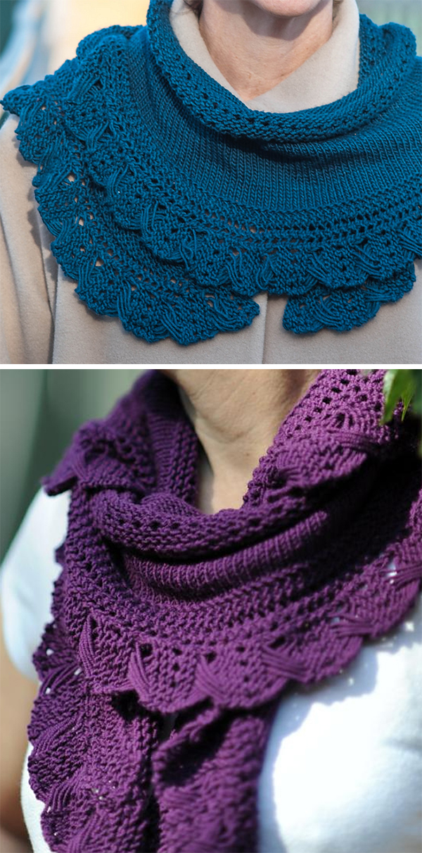 Knitting Pattern for Criss Cross Scarf