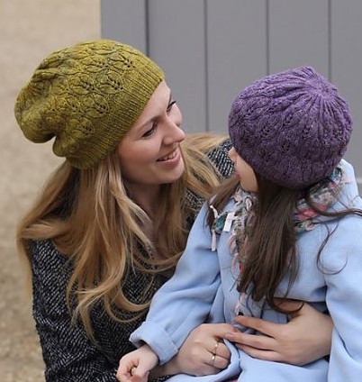 Knitting Pattern for Crocus Hat for Adult and Child Sizes