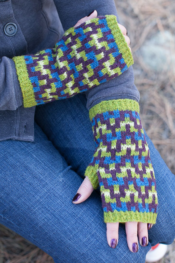Free Knitting Pattern for Croft Mitts